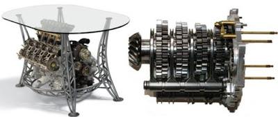 Ferrari F1 Gearbox Table