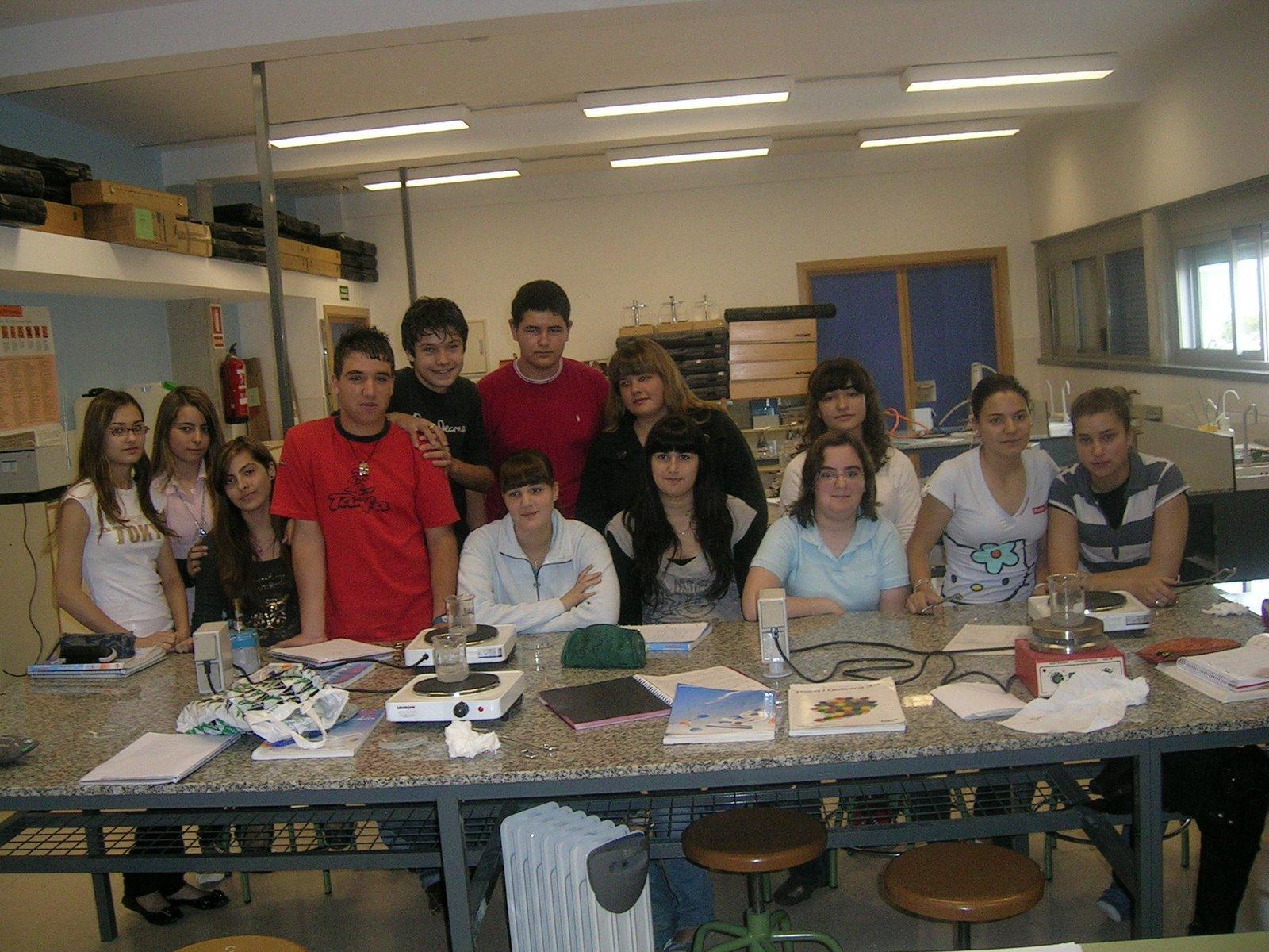 Alumnos de 3º ESO IES Vila-roja. Almassora