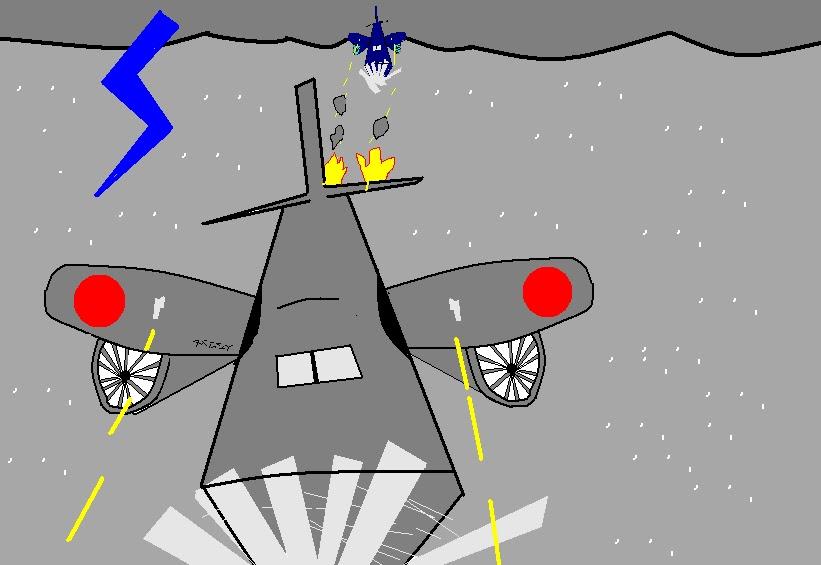 desenhos paint aviões