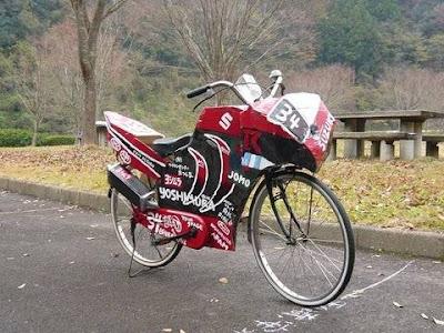 chega �s bicicletas.