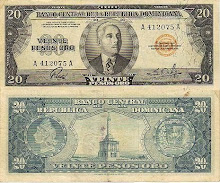 Billete 20 pesos 1952
