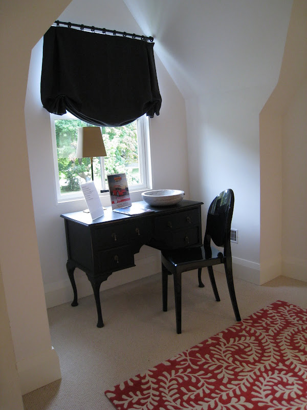 Dressing Room - vanity table located under a dormer window just as you  title=