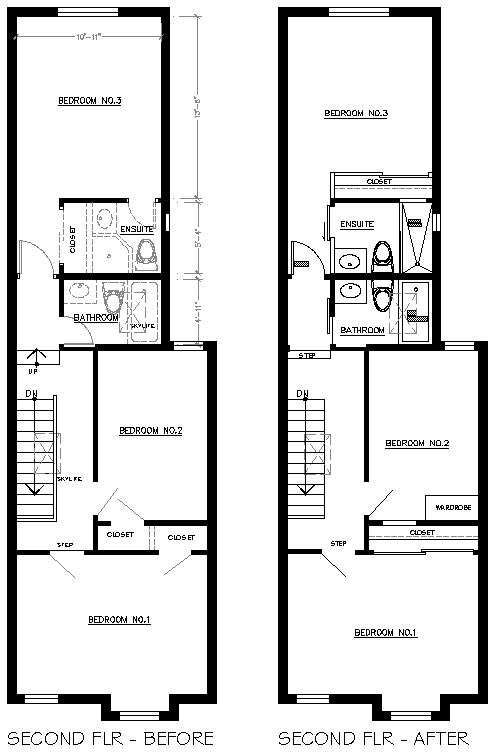 Creed victorian row house a designer reno on a diy for Victorian row house plans