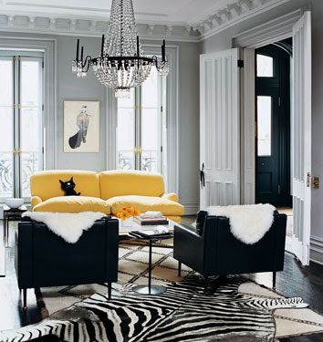 Glamorous Chic Living Rooms
