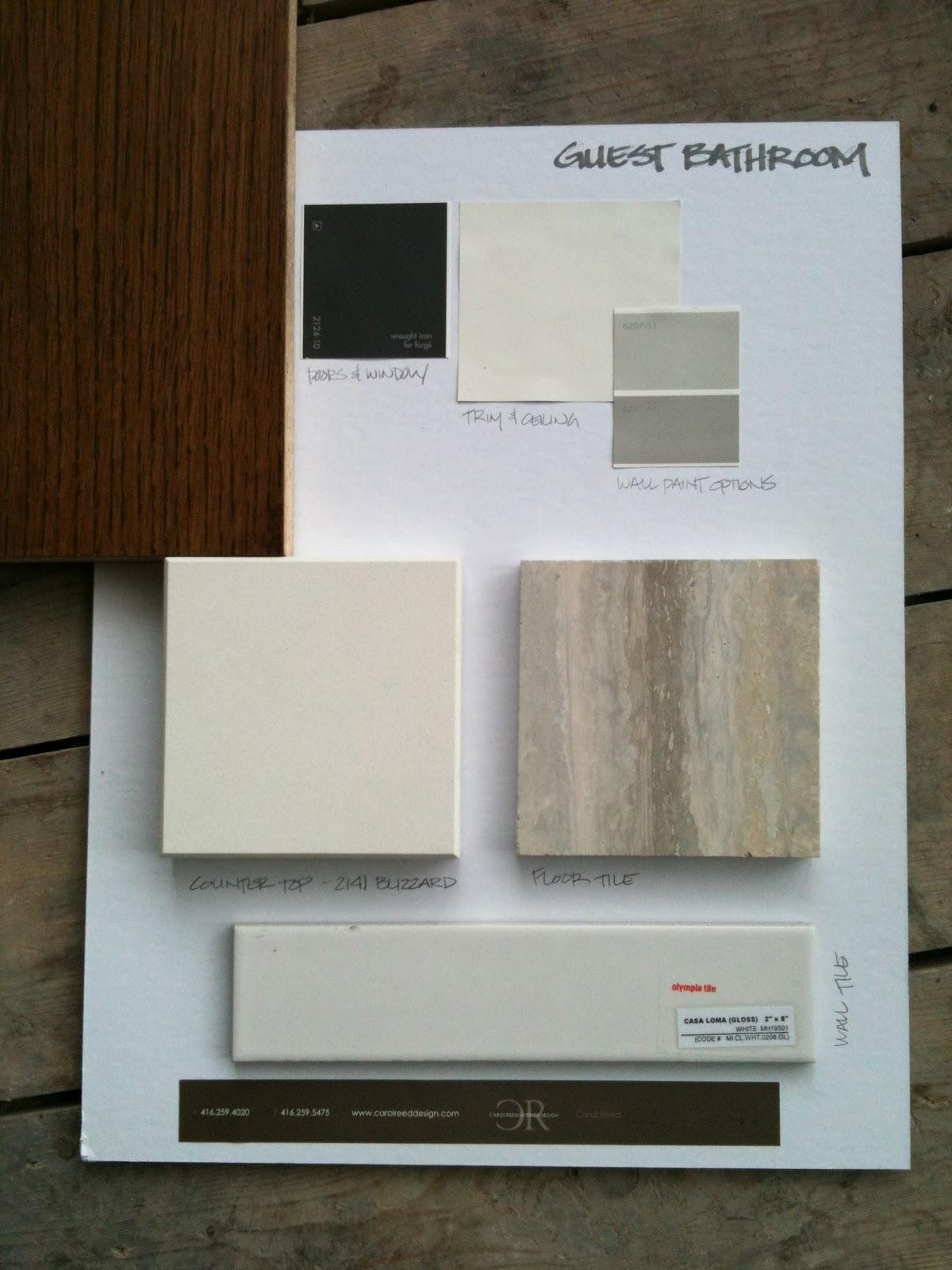 Creed 70 39 s bungalow bathroom designs for Bathroom design board