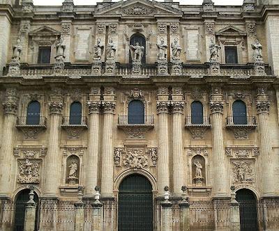 Visitas guiadas ja n la fachada de la catedral de ja n - Arquitectos en cordoba ...