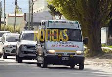 LAS PRIMERAS IMÁGENES DEL TRASLADO  DE LOS RESTOS DE KIRCHNER EN EL CALAFATE