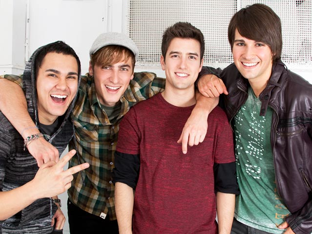big time rush bring beautiful christmas to the aol music studio - Big Time Rush Christmas