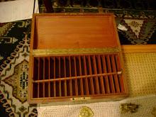 caja para guardar cuerdas . francia