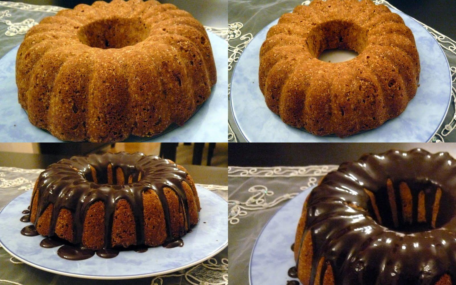 Çikolata soslu havuçlu kek tarifi