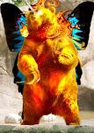 Flaming Fairy/Unicorn Bear Thingy