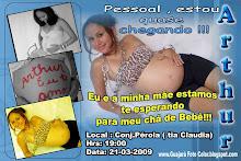 """Convite de Chá de Bebê"""