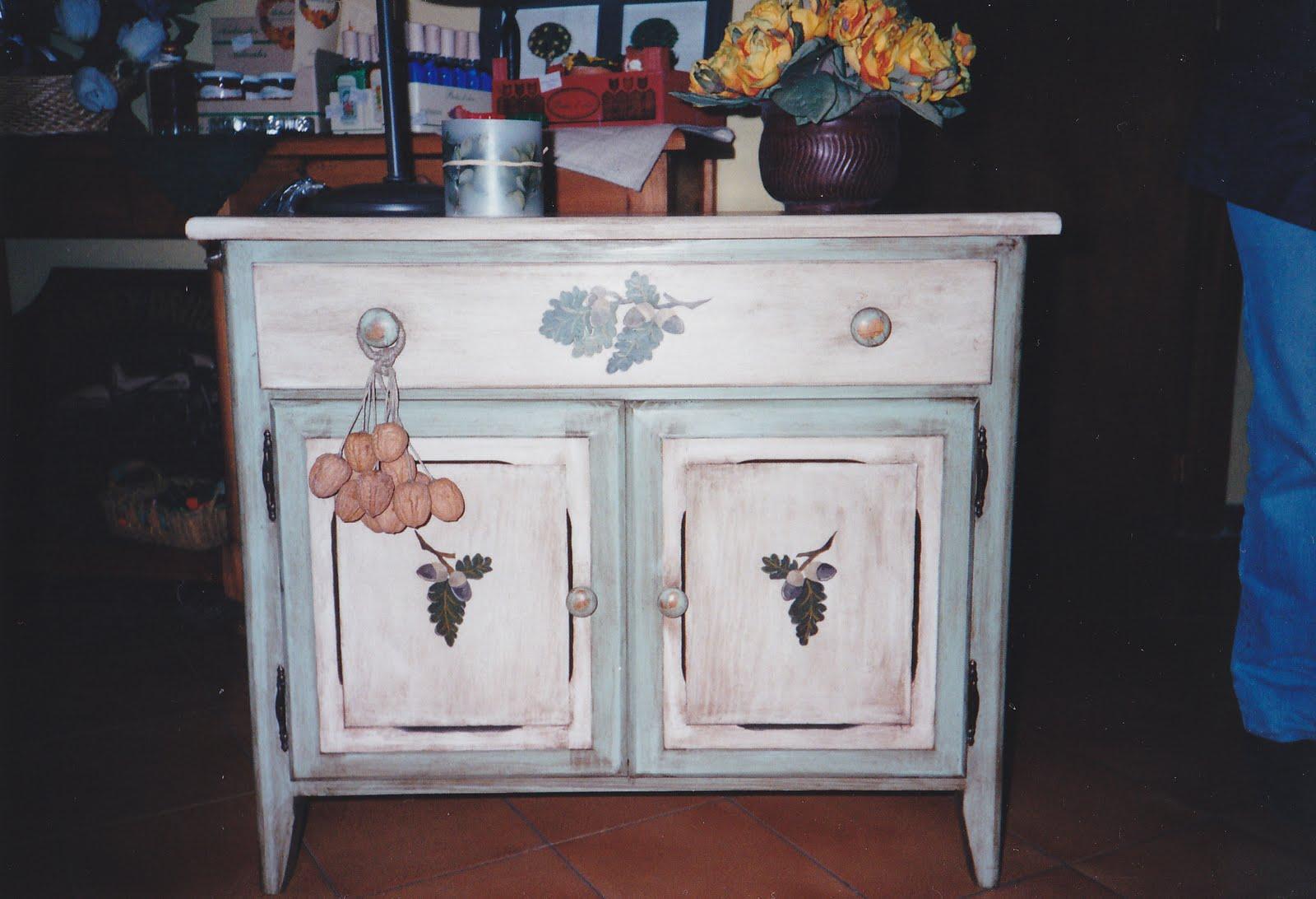 El taller del pintor mueble auxiliar rustico for Mueble auxiliar rustico