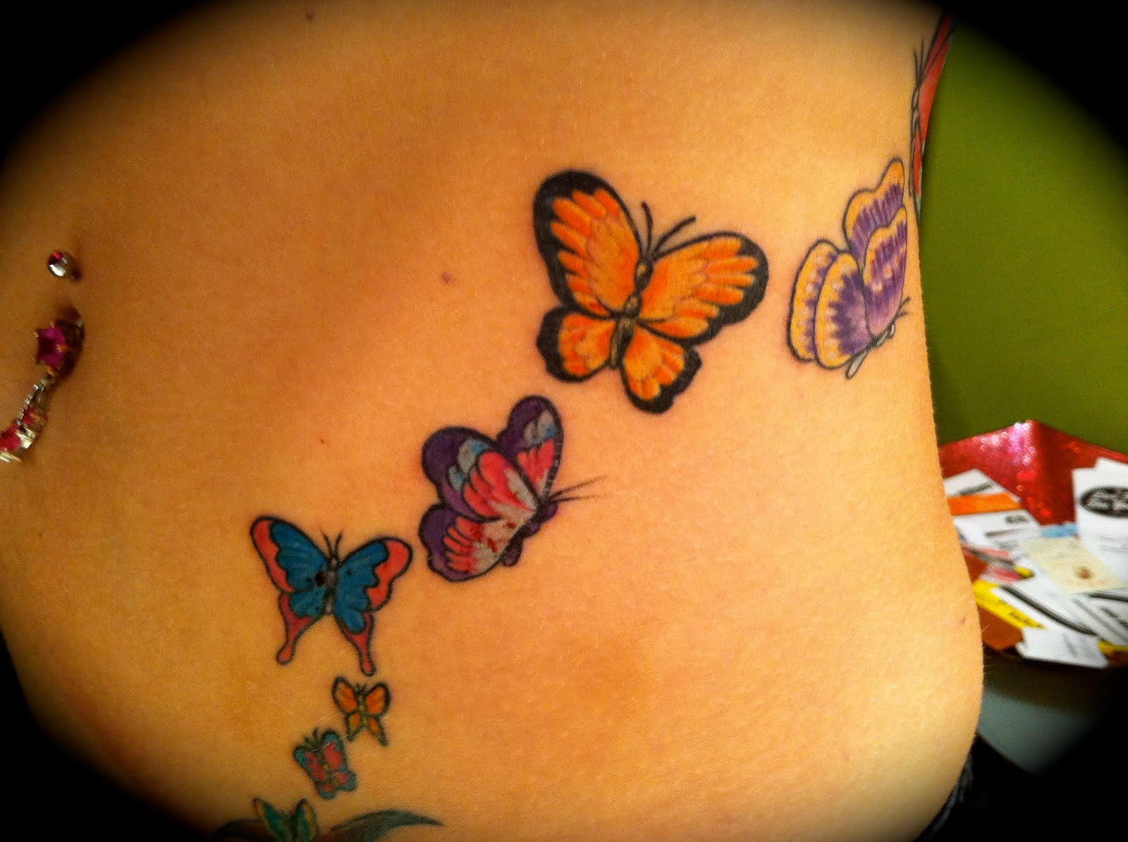 Miss Kitty...Tattoos, Art and Happenings: Butterflies