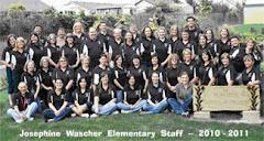 Wascher Staff 2010 - 2011
