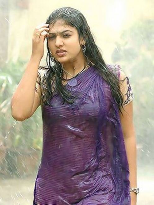 South Indian Actress in Hot | Nayanthara hot wet saree pics ,Gallery