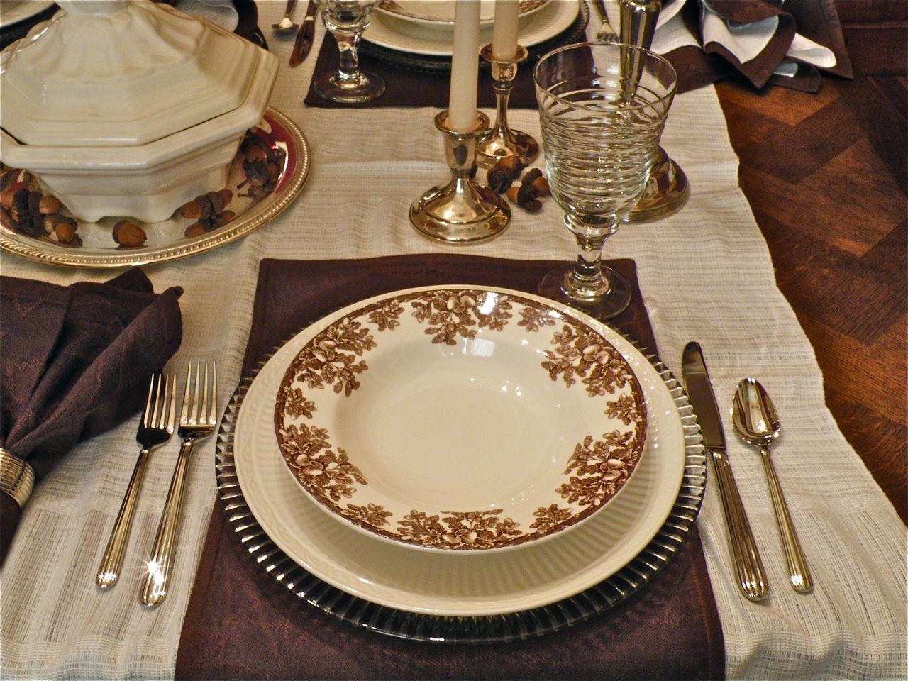 continued with Mikasa u201cItalian Countrysideu201d dinner plates u2026 & Soup u0026 Silver u2026 So Simple