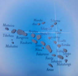 Map of Tuomotus (meaning many islands)