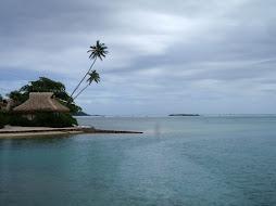 an island anchorage