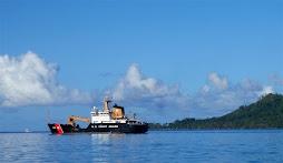 U.S. Coast Guard dropping by