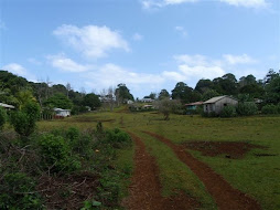 A rural community on one of our walks