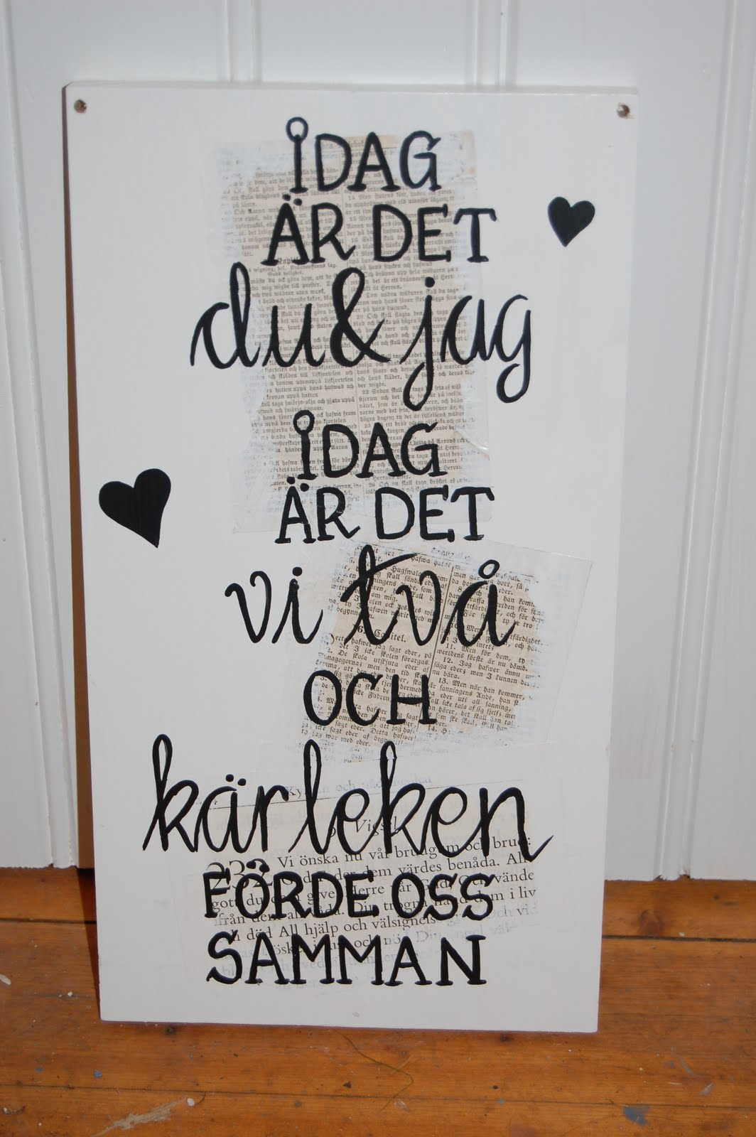 Kok Tavlor Med Text : PettersLailaDesign Tavlor med text
