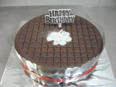 My Dream, My Inspiration: Pure Chocolate Birthday Cake