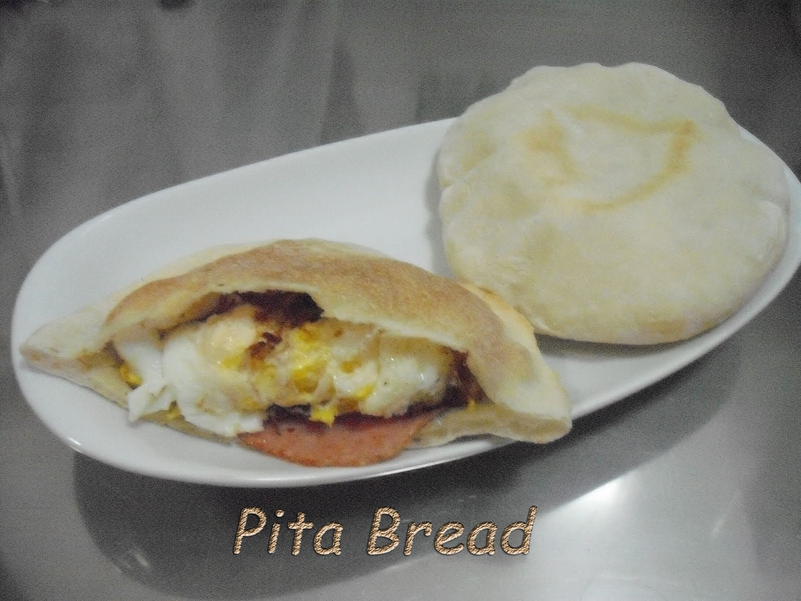 how to make pita pocket bread