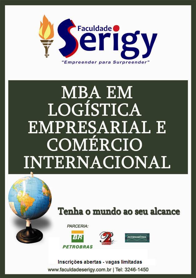 Poggue news mba em log stica empresarial e com rcio for Docente comercio exterior