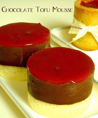 Kitchen Corner: Chocolate Tofu Mousse