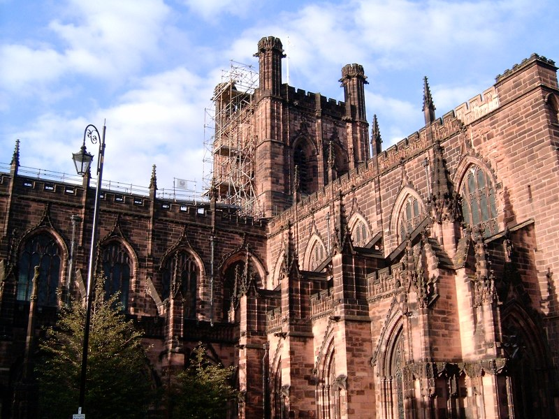 French Gothic Architecture Is Shown Through In The Flying Buttress Which Aided Inserting More Windows To Bring Light Stained Glass