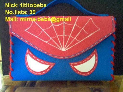 Manualidades Alyn: DULCERO SPIDER MAN