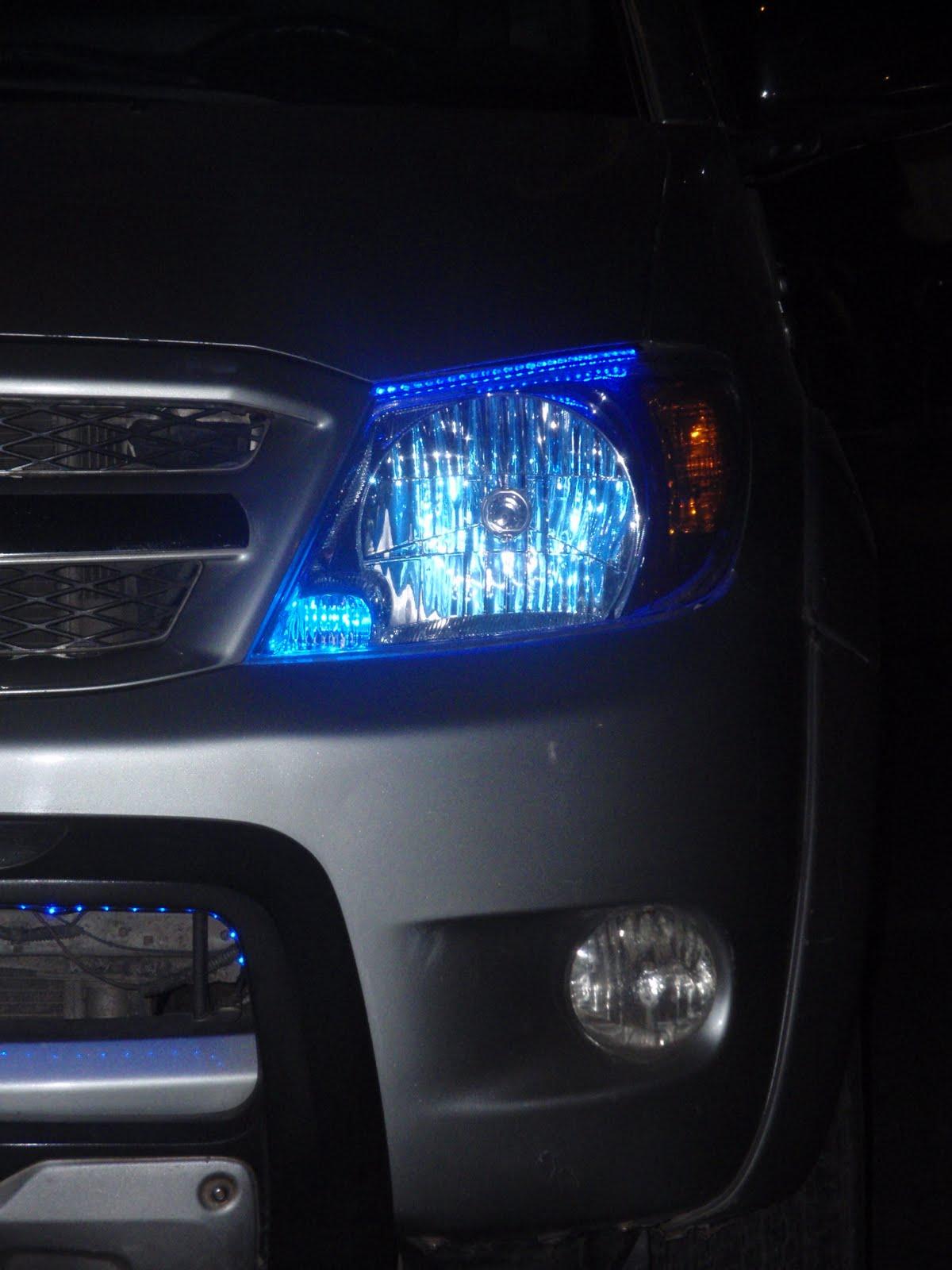 Luces y tiras led para autos y motos tuning iluminacion - Tiras luces led ...