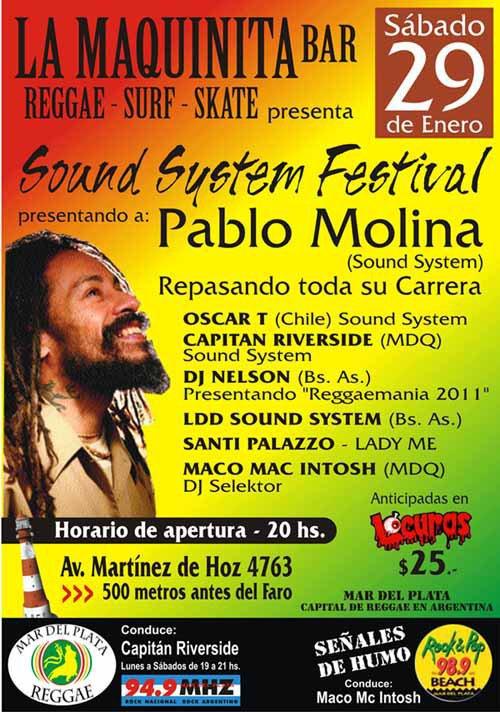 SOUND SYSTEM FESTIVAL - 29 DE ENERO