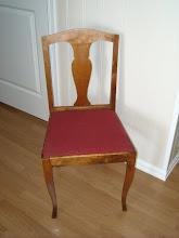 Slik så stolen ut...