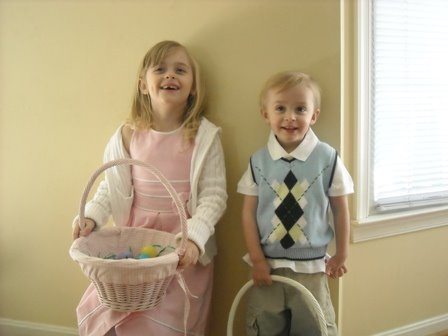 Dressed in their Easter best!