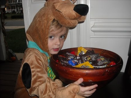 "Luke as ""Scooby Doo""!!!!....again"