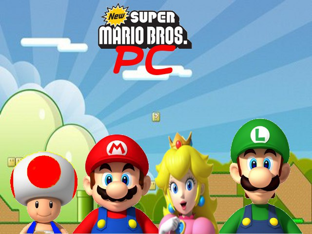 how to play new super mario bros on pc