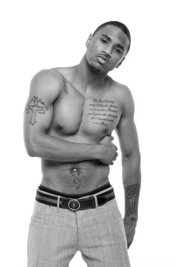 trey songz tattoos on chest. 2010 Trey Songz Tattoo Images: