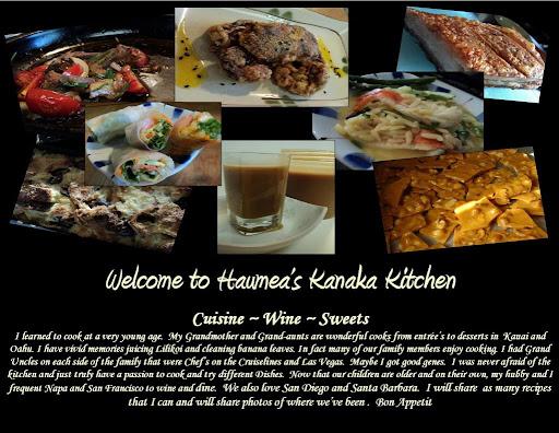 Haumea's Kanaka Kitchen Blog