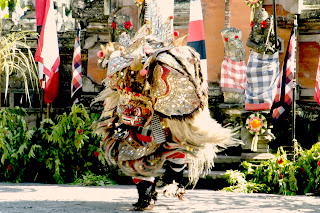 the well known balinese barong dance