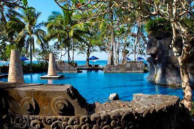 sheraton senggigi hotel pool