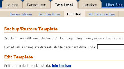 Tab Edit HTML
