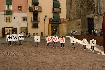 la CAN.es sale a la calle en Barcelona 2