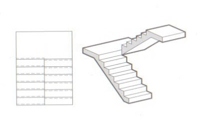 U Shaped Stairs, Which Switch Back As They Ascend, Are Useful In Tight  Floor Plans And As One Component In A Stacking Multilevel Circulation  System (such As ...