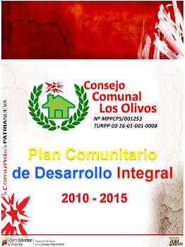 """""""PLAN COMUNITARIO DE DESARROLLO INTEGRAL"""""""