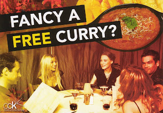 Fancy a Free Curry?