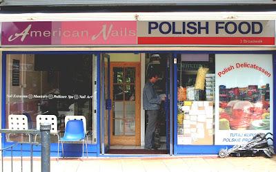 American Nail Polish Food