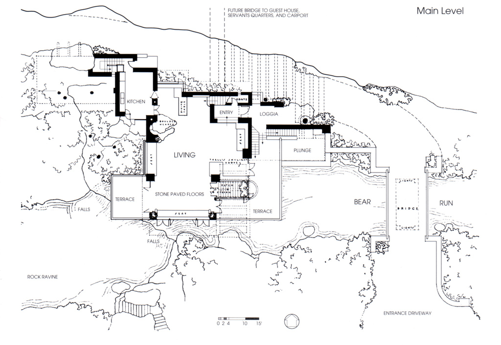 28+ [ Frank Lloyd Wright Falling Water Floor Plan ] | Frank Lloyd ...