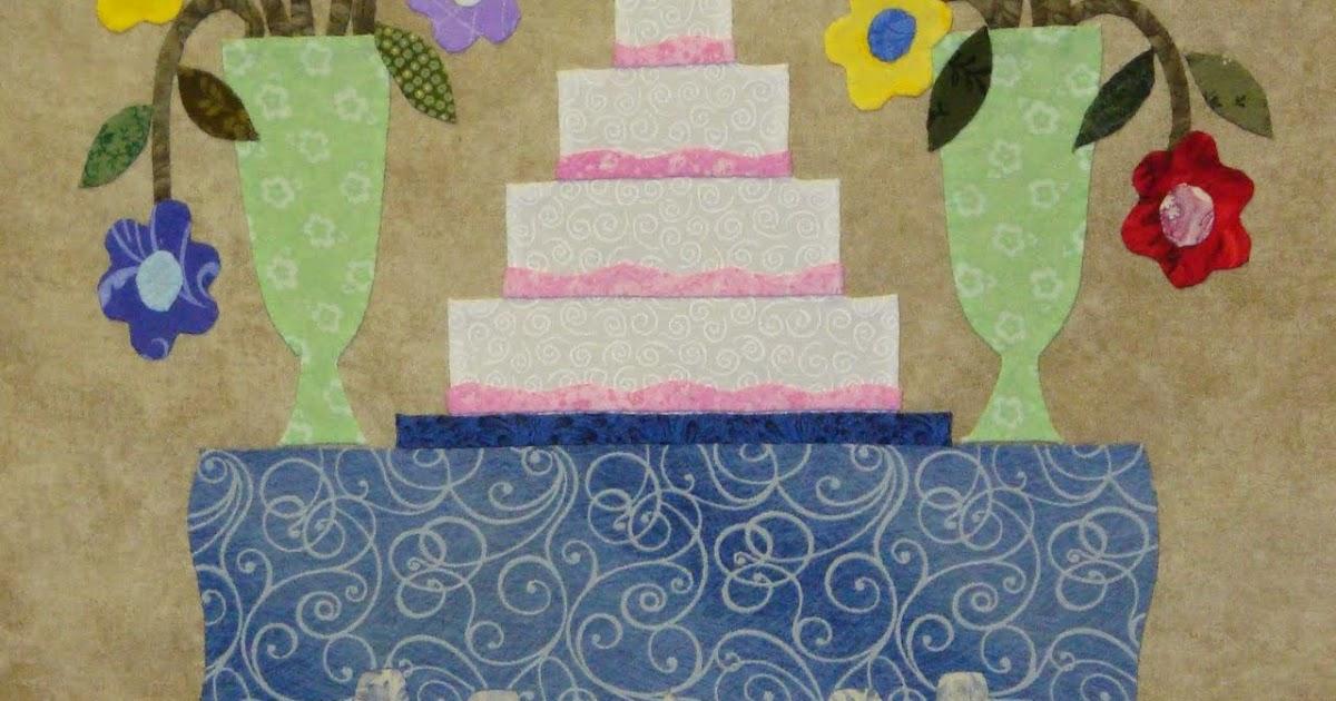 Quilt Pattern Wedding Cake : The Civil War Bride Quilt: Let them eat cake! (wedding cake, that is...)